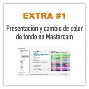 Cambio de color de fondo en Mastercam