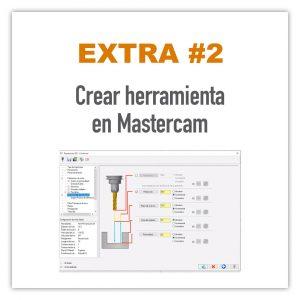 Crear herramienta en Mastercam