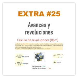 Extra 25 - Avances y revoluciones