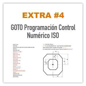 GOTO Programación Control Numérico ISO
