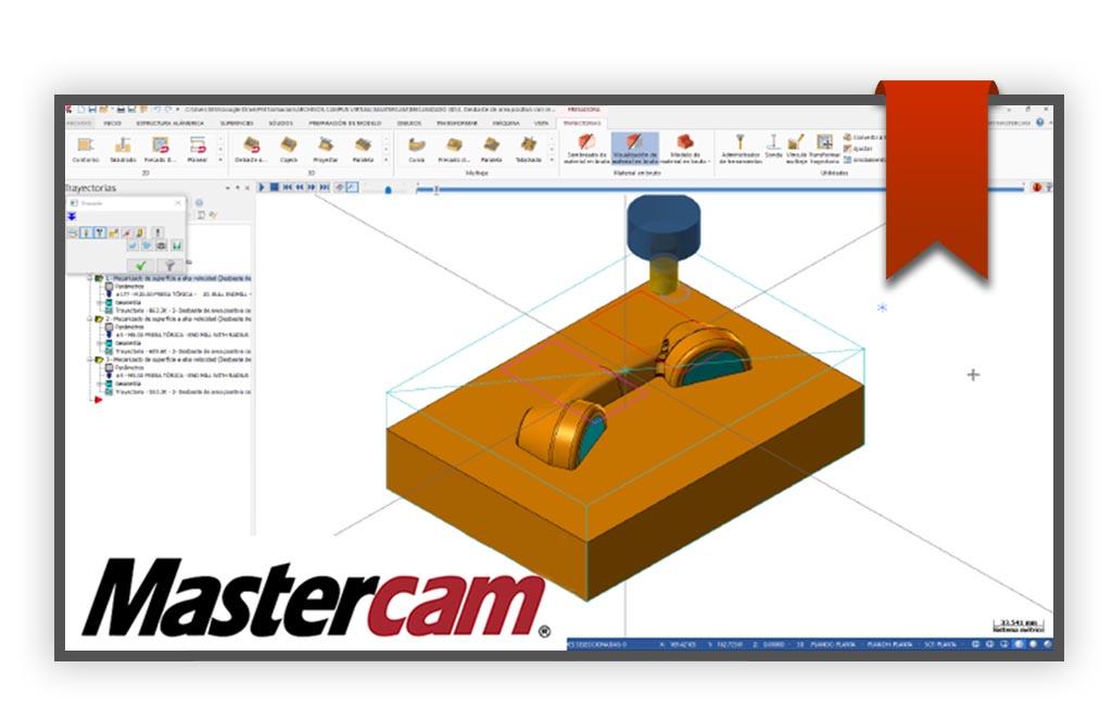 Curso de Mastercam mecanizado 3D